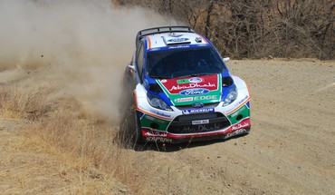 Ford fiesta wrc mexico world rally championship HD wallpaper