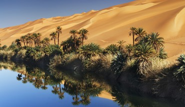 Libya deserts nature tropical HD wallpaper