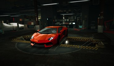 For Speed ​​Lamborghini Aventador мира гараж NFS HD wallpaper