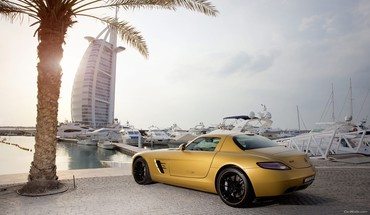 Amg mercedesbenz sls cars HD wallpaper