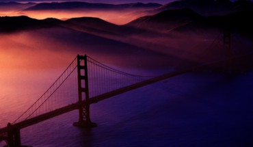 Golden Gate Bridge architektūros tiltai  HD wallpaper