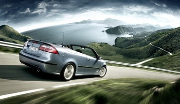 Saab 93 turbo x automobiliai kabrioletas  HD wallpaper