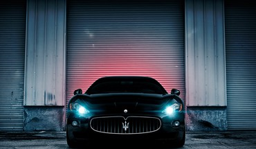 Gt maserati black cars luxury sport HD wallpaper