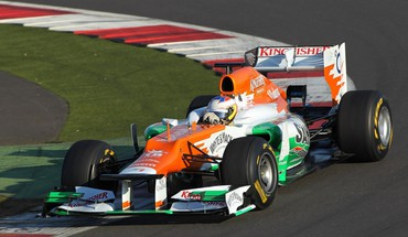 Force india formula one cars racing HD wallpaper
