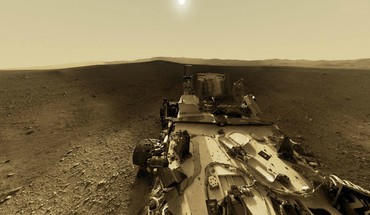 Landscapes sun mars curiosity HD wallpaper