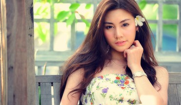 Asian girl beautiful HD wallpaper