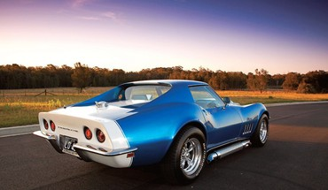 Automobiliai 1969 Chevrolet Corvette Stingray  HD wallpaper