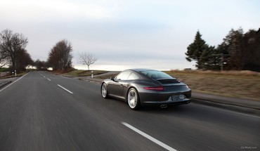 Porsche techart cars HD wallpaper