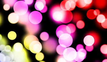 Bokeh color splash HD wallpaper
