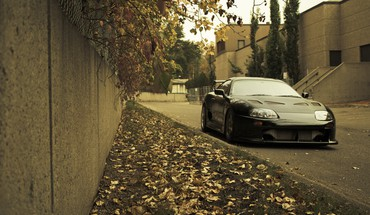 Jdm japanese domestic market toyota supra cars leaves HD wallpaper