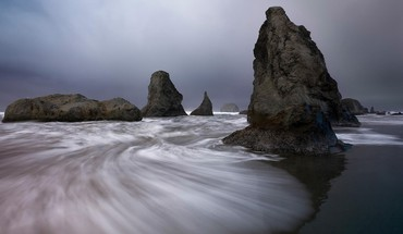 Oregon sea HD wallpaper