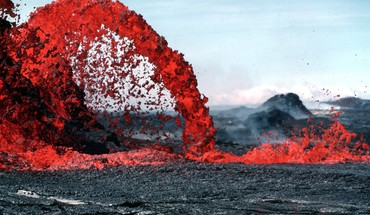 Lava nature volcanoes HD wallpaper