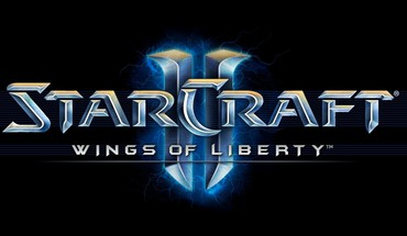 Starcraft ii logos video games HD wallpaper