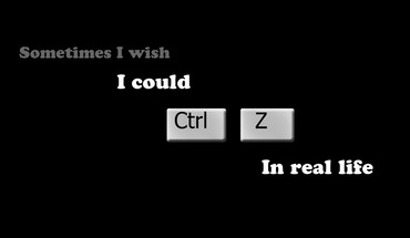 Ctrl z control ctrlz i wish HD wallpaper