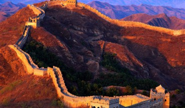 Grande Muraille de Chine Architecture Paysages  HD wallpaper