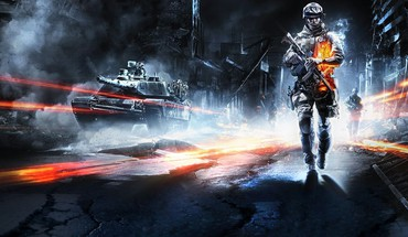 Battlefield 3 soldiers tanks HD wallpaper