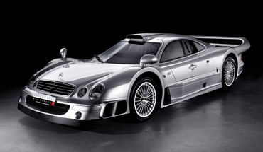 Mercedesbenz clk gtr coupé black background cars HD wallpaper
