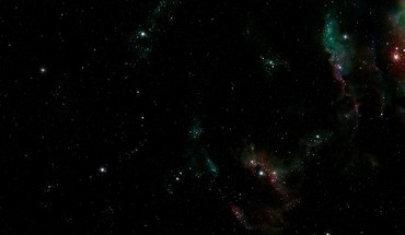 Dark outer space stars HD wallpaper