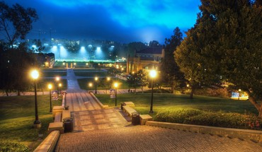 Campus der UCLA in Los Angeles Westwood  HD wallpaper