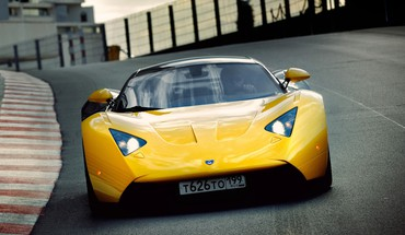 Cars Marussia rusų  HD wallpaper