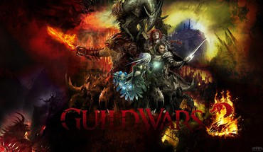 Guild wars 2 mmorpg artwork fantasy art games HD wallpaper