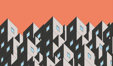 Buildings minimalistic vectors HD wallpaper