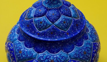 Iran artwork blue paint persian HD wallpaper