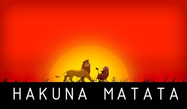Hakuna matata the lion king no worries HD wallpaper