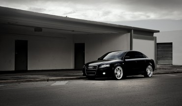 Audi a4 german cars automobiles luxury sport HD wallpaper