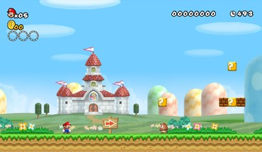 Mushroom Kingdom New Super Mario Bros Wii  HD wallpaper
