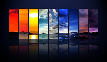 Spectrum of the sky HD wallpaper