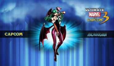 "Capcom ""Marvel vs 3 Morrigan Komiksai  HD wallpaper"