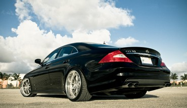 Amg mercedesbenz mercedes benz voitures de CLS55 noir HD wallpaper