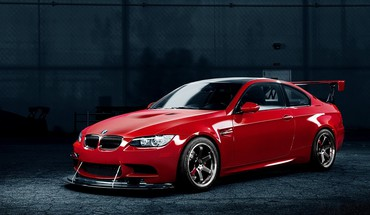 BMW M3 Rennwagen rot Tuning  HD wallpaper