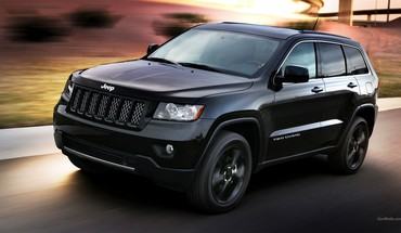 Grand Cherokee Jeep juodi automobiliai koncepcija meno  HD wallpaper