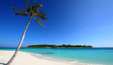 Maldivian beach HD wallpaper