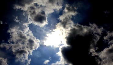 Clouds sun skyscapes sunny HD wallpaper
