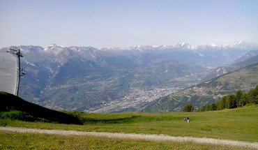 Nendaz sion switzerland HD wallpaper