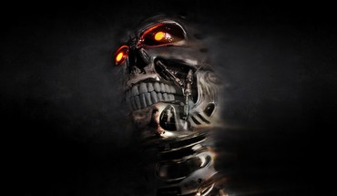 3d skull backgrounds HD wallpaper