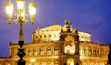 Dresden germany semper opera HD wallpaper