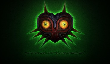 Majoras mask glow skull kid zelda: majora HD wallpaper