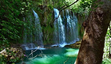 Landscapes nature waterfalls HD wallpaper