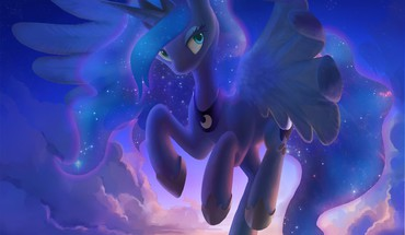 Princess luna celebi pony: friendship is magic HD wallpaper