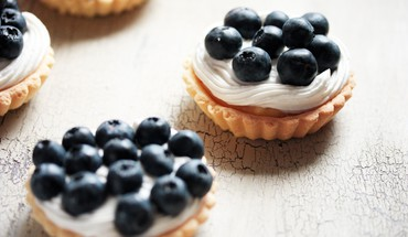 Fruits food blueberries dessert tarts HD wallpaper