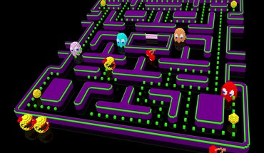Video games pac-man retro HD wallpaper