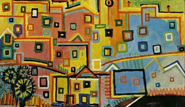Artwork villages pablo picasso traditional art village HD wallpaper