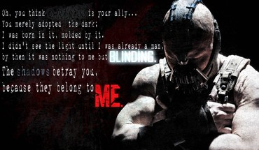 Batman movies text bane the dark knight rises HD wallpaper