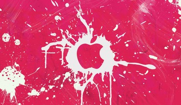 Pink apples HD wallpaper