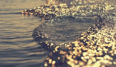 Beaches sea sparkles water HD wallpaper