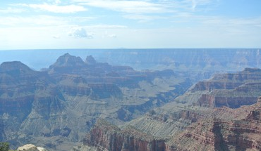 Grand canyon view from bright angel point HD wallpaper